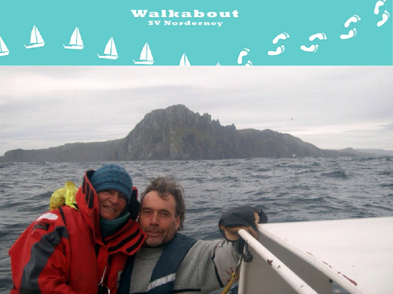 Wir segeln und wandern durch die Welt